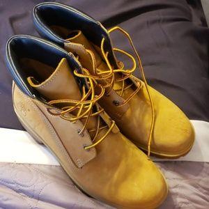 Timberland hiking boots,  size 6M, worn twice